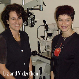 Liz and Vicky then